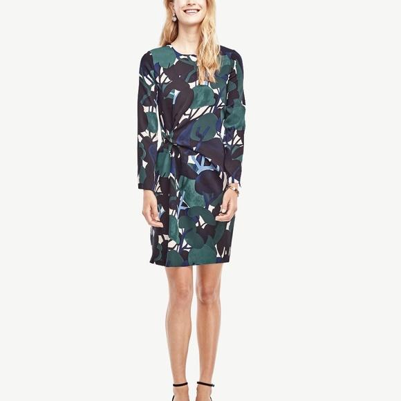 Ann Taylor Dresses - New ANN TAYLOR Cypress Botanical Shift Dress 10